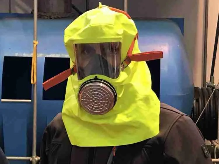 formazione anticaduta - prova maschere