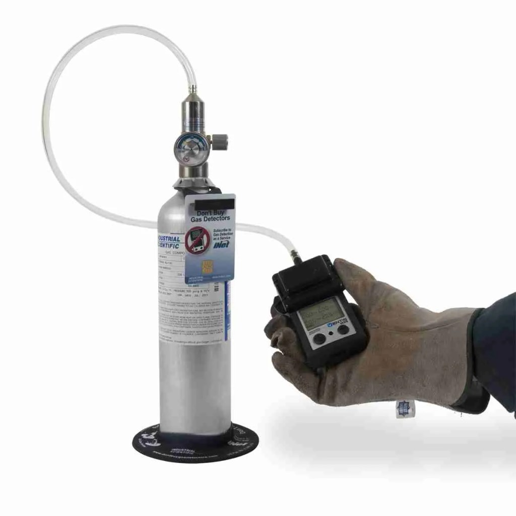 rilevatore di gas portatile - bump test