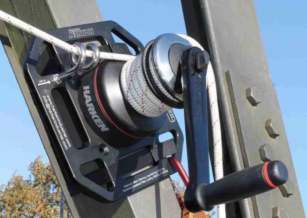 harke industrial winch per materiali rigger