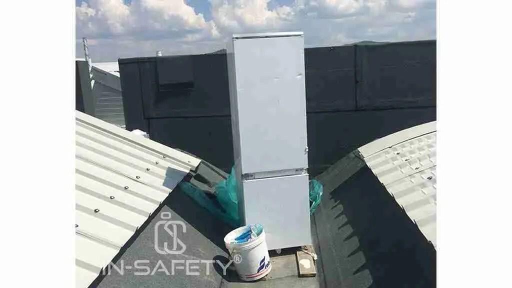 stress termico - frigorifero sul tetto
