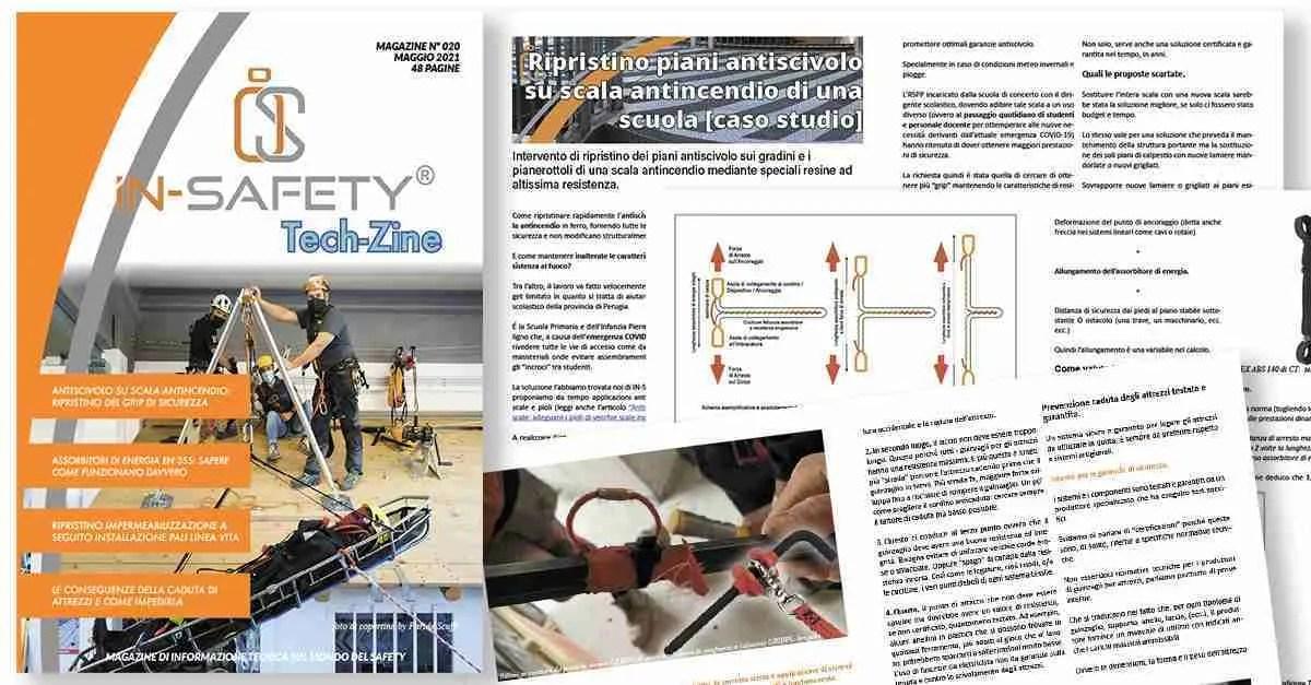 Copertina della rivista Tech-Zine