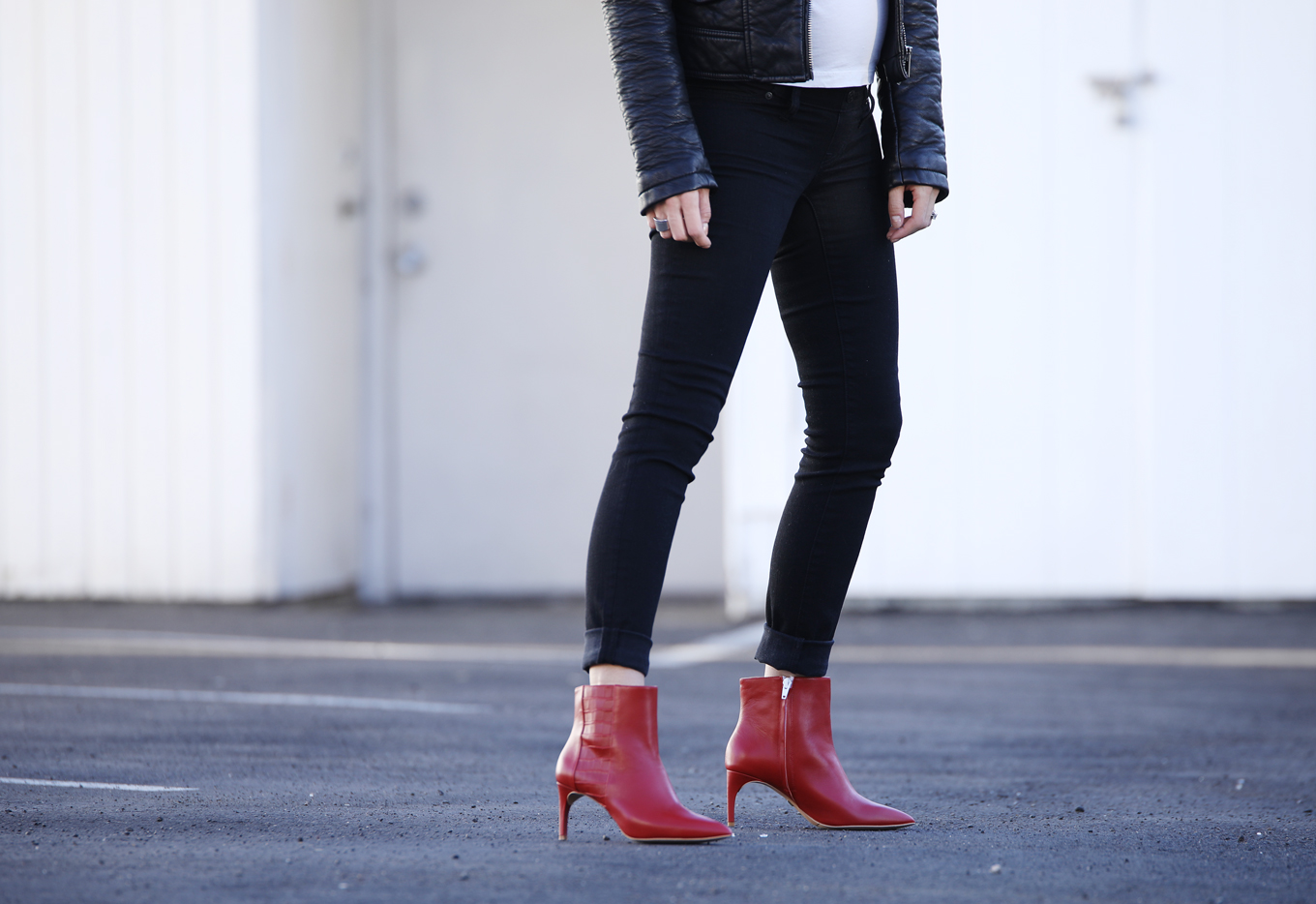 Shoes of Prey red booties