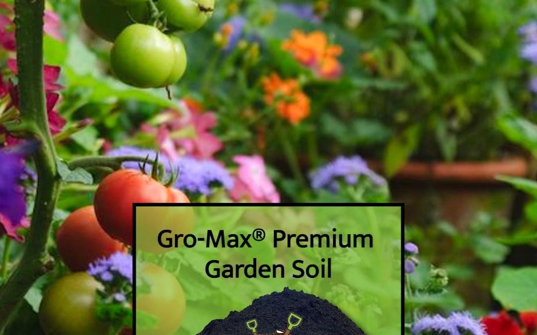 Gro-Max® Premium Garden Soil for Planting & Sodding