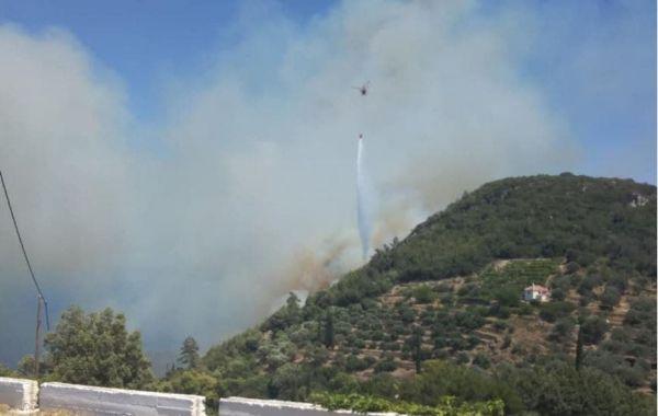 Ανεξέλεγκτη η φωτιά στη δασική περιοχή της Σάμου – Εκκενώνονται ξενοδοχεία