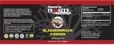 in10sity organic bladderwrack powder