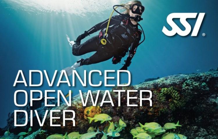SSI Advanced Open Water Diver brevet