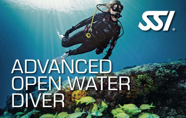 SSI specialty Advanced Open Water Diver brevet