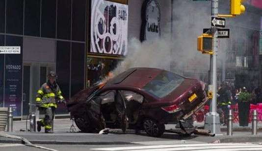 serious car crash new york