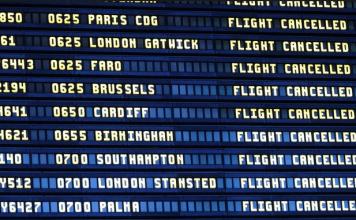 spanish flight delays