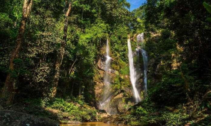 Mok Fah Waterfall Chiang Mai