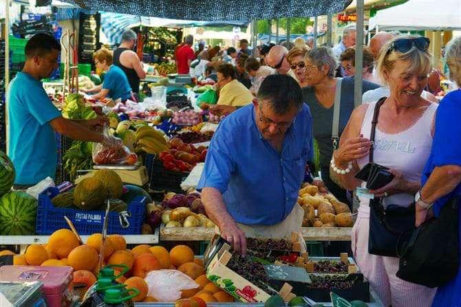 benidorm markets