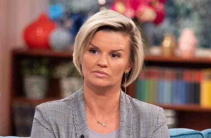 kerry katona calls the police