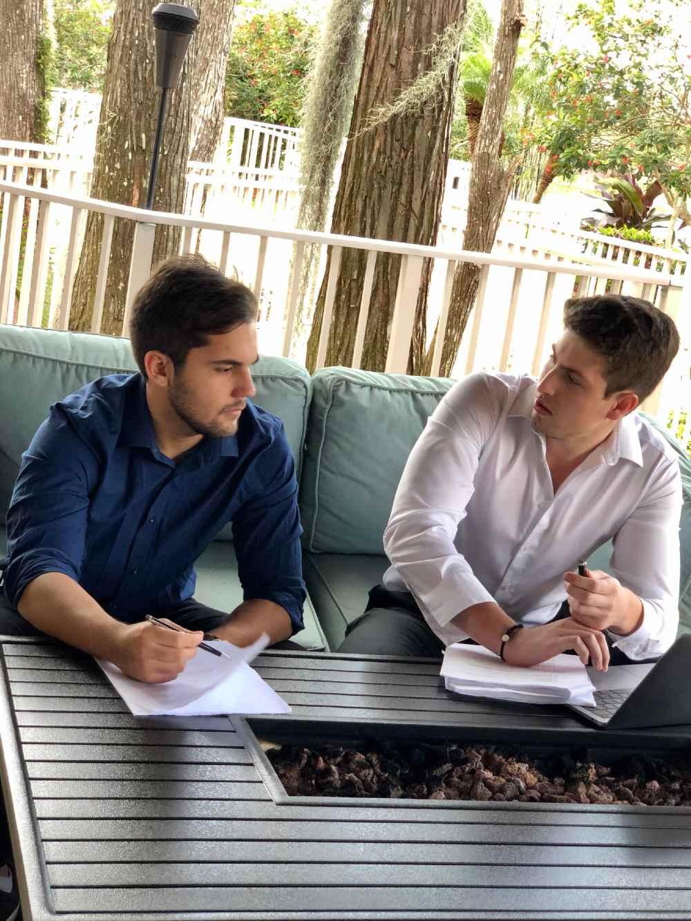 Lenardo Campolina and Gabriel Campos