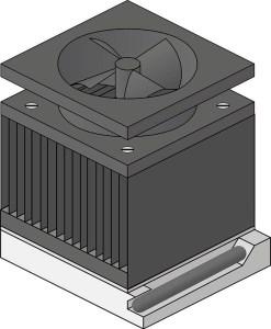 Számítógép hűtőventilátor