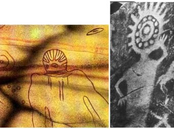 UFO's and Aliens in Art History