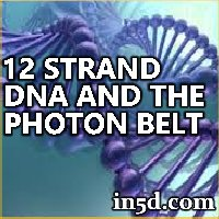 Recoding To 12 Strand DNA Sequence And Entering Into The Photon Belt
