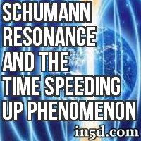 Schumann Resonance And The Time Speeding Up Phenomenon