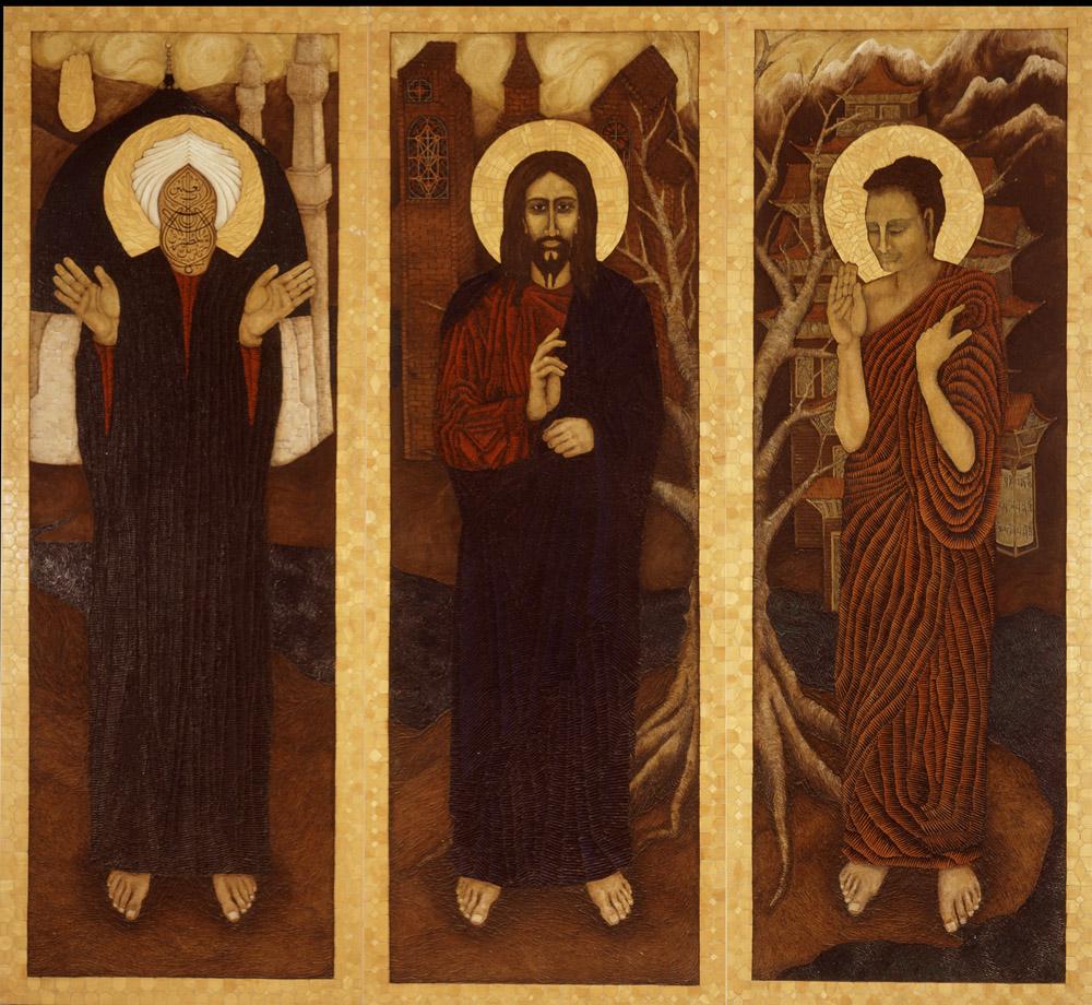 Jesus, Buddha, Muhammad