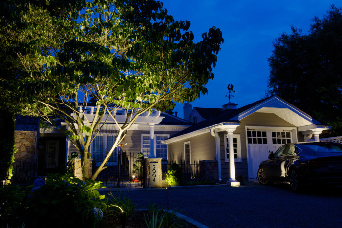 outdoor accent tree lighting for your home inaray design group