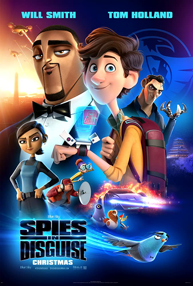DOWNLOAD MOVIE : Spies in Disguise (2019)
