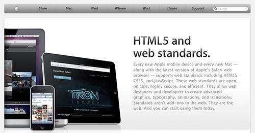 Apple HTML5 Showcase