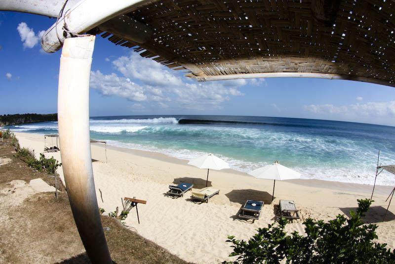 balangan beach rustic surf beach