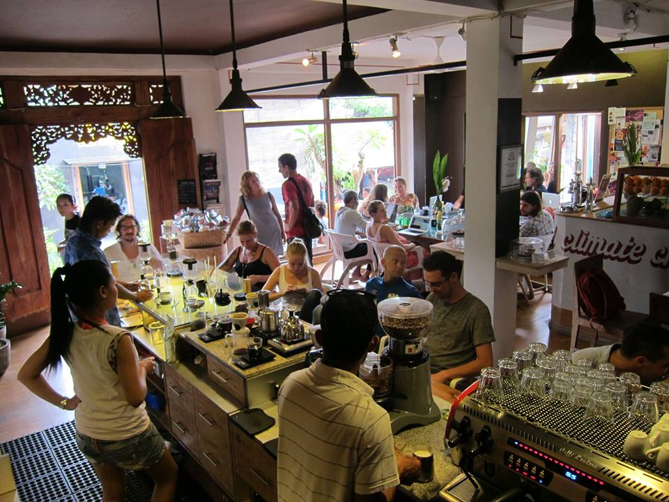 seniman coffee studio ubud bali best cafe
