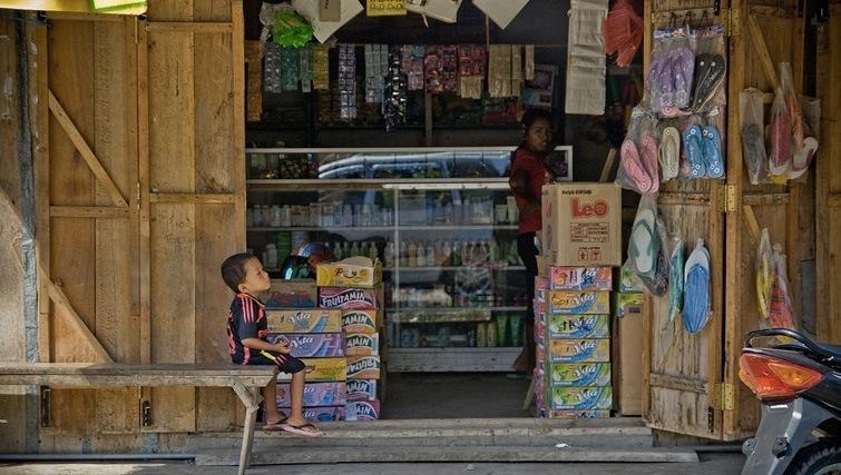 Labuhan Bajo town