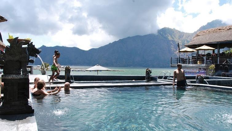 Batur Natural Hot Springs in bali