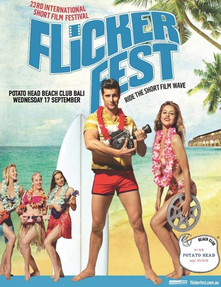 Flickerfest Short Film Festival poster