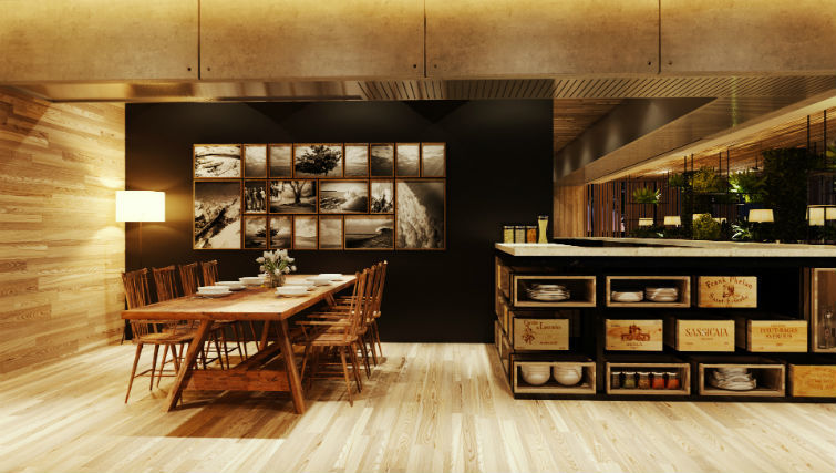 restaurant dining area at BASK Gili Meno