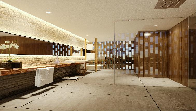 Luxe bathrooms at BASK Gili Meno