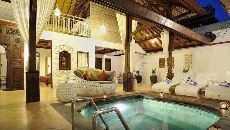 3 bedroom Seminyak pool villa