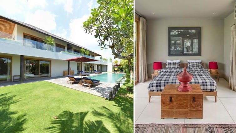 villa louwie for rent canggu