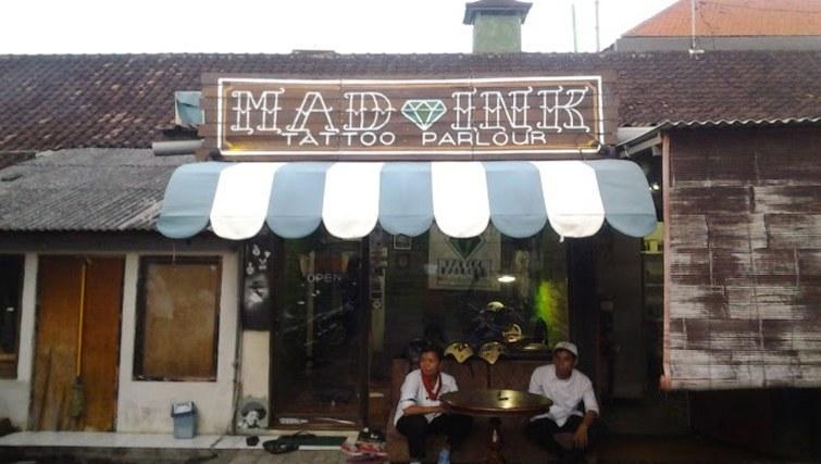 Mad Ink tattoo salon Kuta
