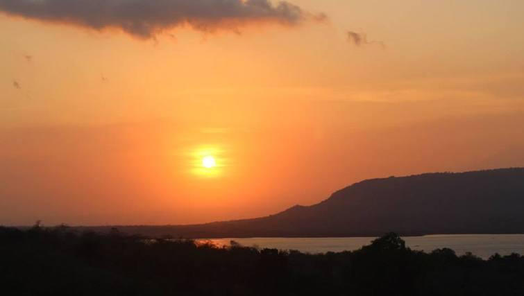 Sunset from The Menjangan tree house