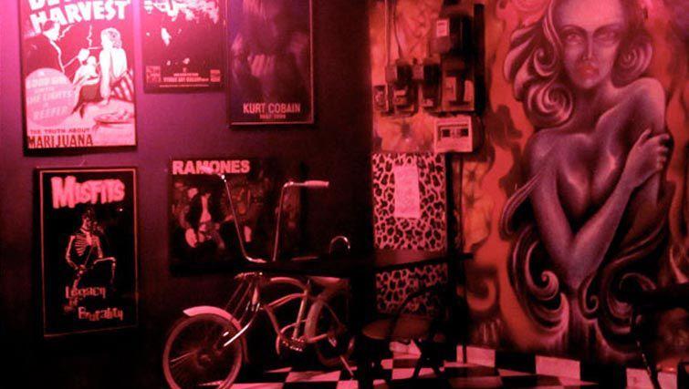 Twice bar interior Kuta