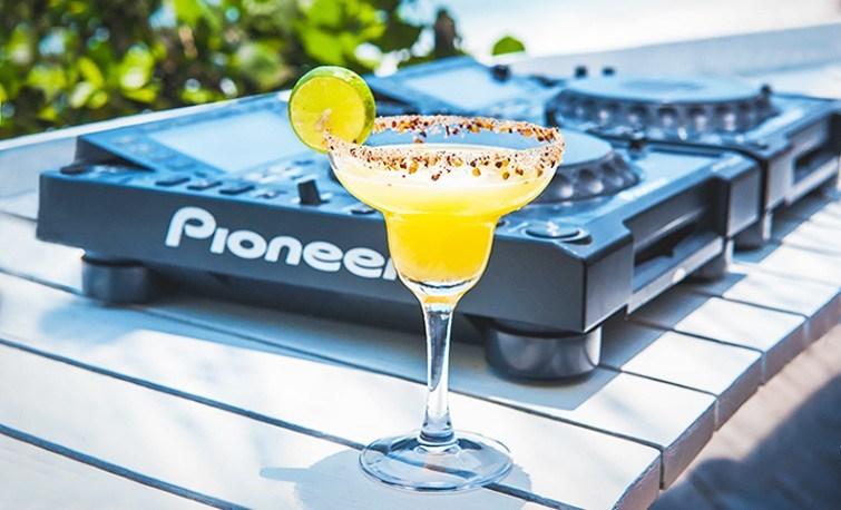 New Years Day cocktails (Karma Beach Club)