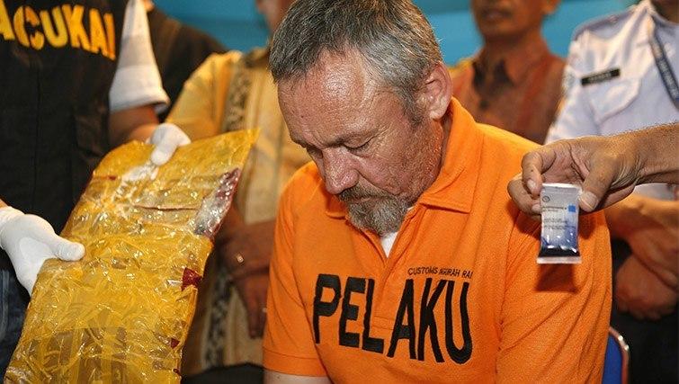 drug arrest in Bali