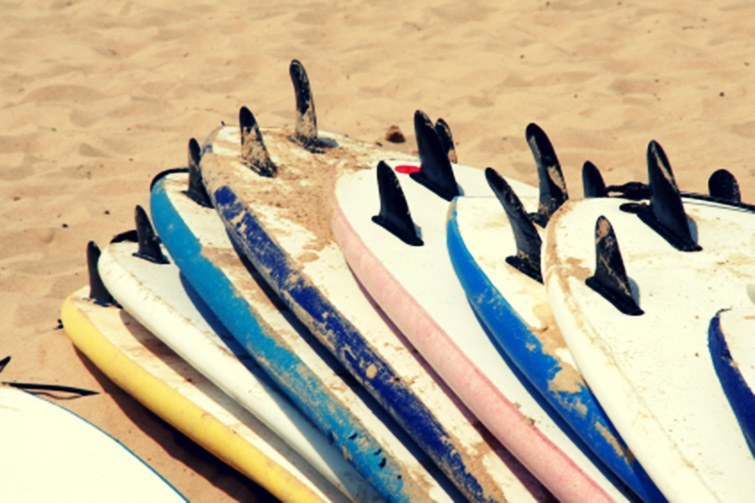 Soft top surfboards via Surf Science