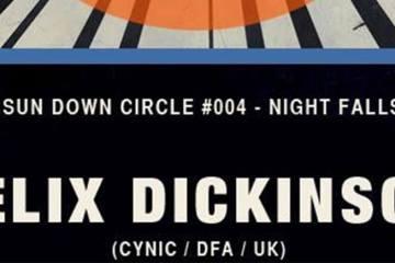 Potato Head - Sundown Circle #004 - Nightfalls, Felix Dickinson flyer.