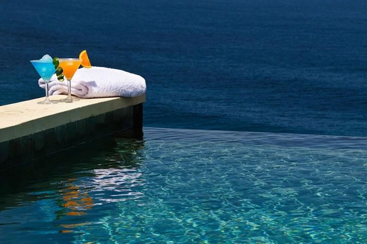 Ocean views pictured at Semara Luxury Villa Resort.