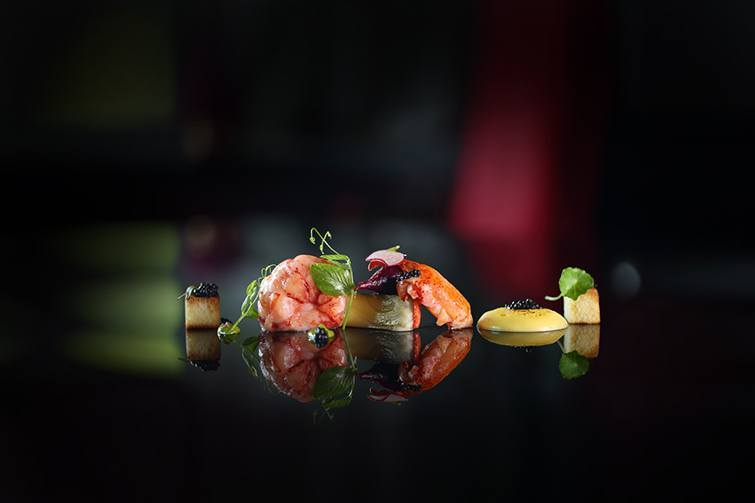 Teatro Gastroteque - Butter Poached Lobster, pictured
