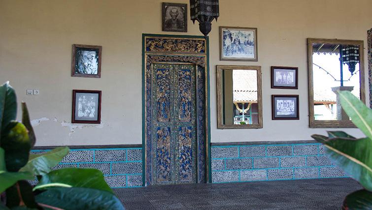 Puri Agung, the King's palace in Amlapura.