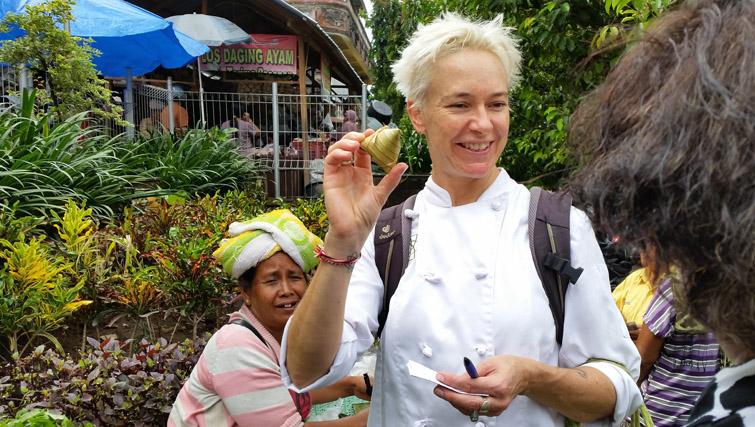 Balinese cakes in Amlapura for Bali Asli
