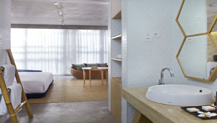 The suites at U-Paasha in Seminyak