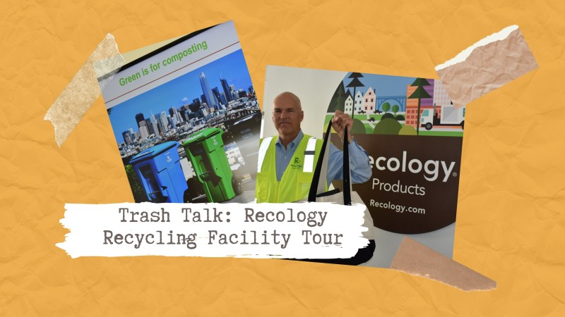 Recology Recycling Facility Tour