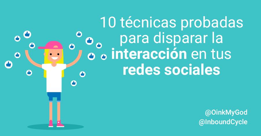 mejorar interaccion en redes sociales