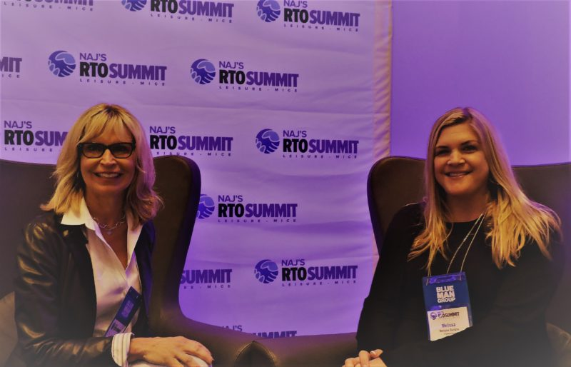 "Delegates received a ""one-two"" combination from Trip Advisor's Carol Johnson (left), destination marketing manager, Latin America; and Melissa Surane, senior destination marketing manager, who discussed key travel trends from the UK, Germany and France, and ""The Power of TripAdvisor for International Online Marketing,"" respectively."