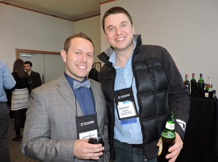 David Reichbach (left), director of analytics and data security; and Anthony Bocquentin, president, barberstock
